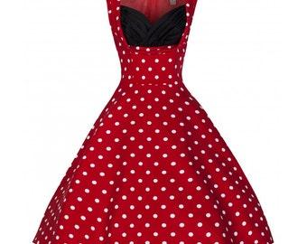 Red Ophelia dress