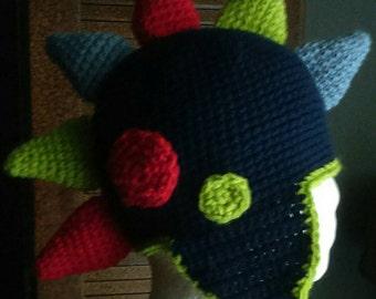 Crochet Spikey Hat