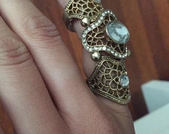 Vintage Finger Ring Size 7