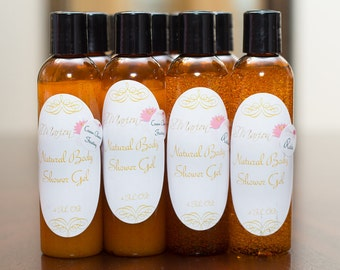 Natural Body Shower Gel 4oz
