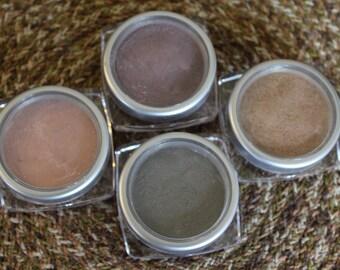 Herbal Blush,Eye Shadow,Bronzer/Organically Made Gluten Free