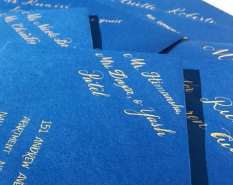 Wedding Invitation Envelope Calligraphy Addressing - Also will do Save the Dates, Return Addresses, RSVP Address