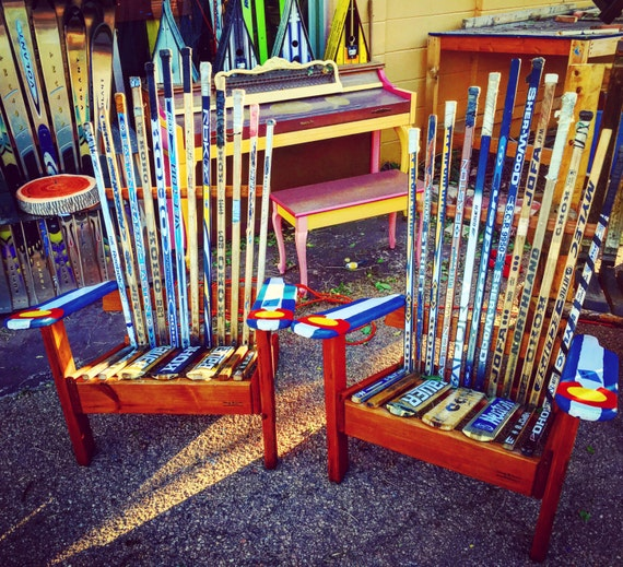Hockey Stick Adirondack Chairs