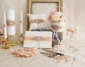 Wedding accessories set with 2 flower girl baskets and no champagne flutes