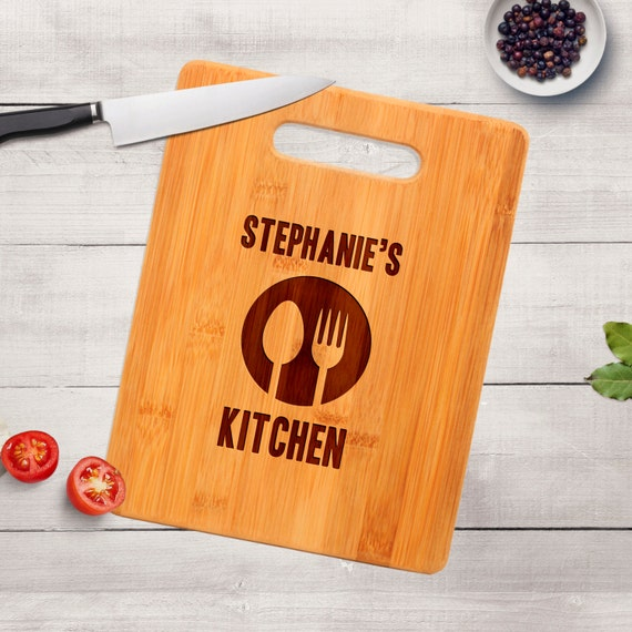 Personalized Kitchen Cutting Board Personalized Gift Idea