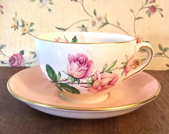 Beautiful English porcelain tea cup
