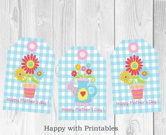 Mother S Day Tags: Mother's Day Gift Tag Printable Mother's Day