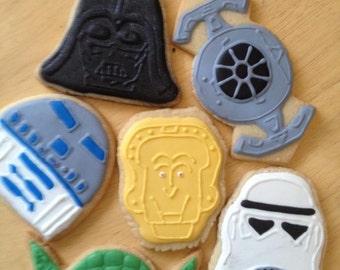 Star Wars Sugar Cookies