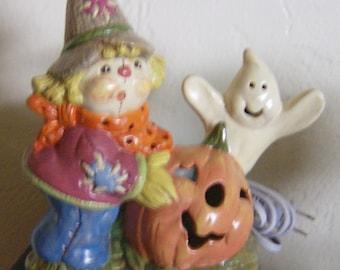 Fall/Halloween lighted figurine