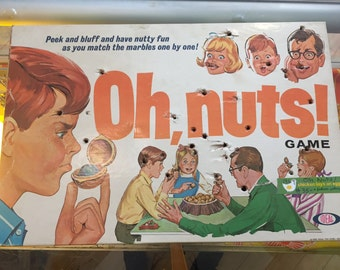 1969 // OH NUTS! Ideal Brand Game