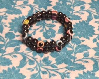 Hematite Bracelet Set