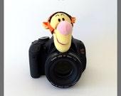 Camera Strap, Baby/Children/Kids Photography Props Ideas, Lens Cover, Photo Friend, Camera Lens Accessories, Tigger, Photography Helper Idea