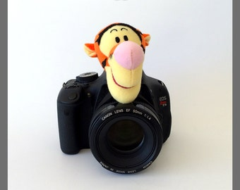 Camera Strap, Baby/Children/Kids Photography Props Ideas, Lens Cover, Photo Friend, Camera Lens Accessories, Tigger, Photography Helper Idea