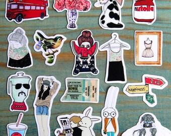 Scrapbook Sticker --Filofax Stickers--Planner Stickers--Mori Style