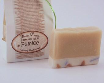 Pumice and Luffa Essential Oil Soap