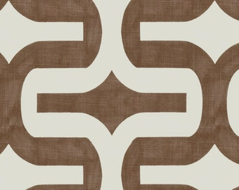 Italian Brown Embrace Fabric - By The Yard - Boy / Girl / Gender Neutral