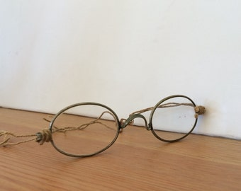 Antique Spectacles Wire Rim Glasses