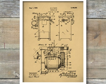 Circular Saw Patent, Delta Unisaw Saw Poster, Table Saw Print, Circular Saw Art, Circular Saw Decor, Circular Saw Wall Art, P397