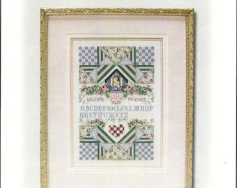 "Stoeny Creek: ""Birdhouse and Quilts Welcome"" Cross Stitch Kit"