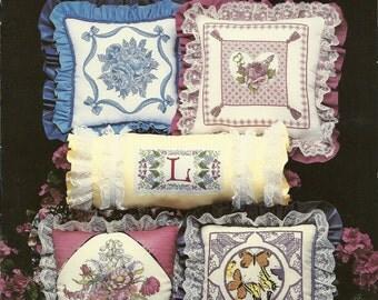 Pillow Decor Cross Stitch Booklet