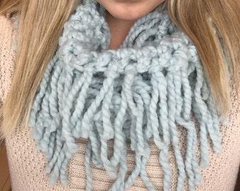 Fringe crochet scarf, Fringe scarf, Crochet scarf, crochet fringe scarf