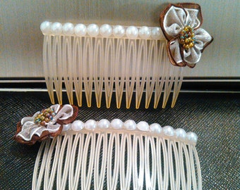 set of hair combs