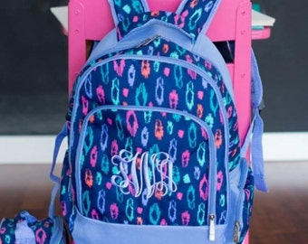 Monogrammed Laney Book Bag