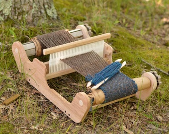 Ashford SampleIt Loom, Rigid Heddle Loom, Small Weaving Loom, Beginner Loom, Gift Idea for someone wanting to learn to weave.