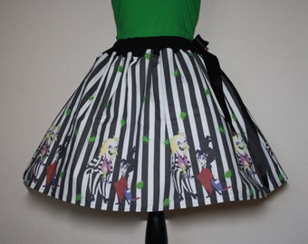 Beetlejuice, Beetlejuice, Beetlejuice Skirt, All Sizes, Plus Size