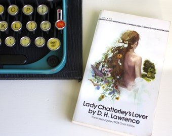 Vintage Book Lady Chatterley's Lover DH Lawrence Bantam Classic 1983