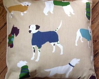 Mans Best Friend (Dog) Cushion Cover