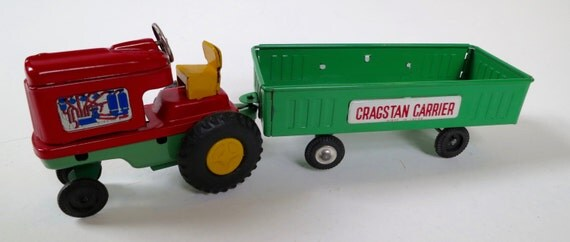 Cragstan Tractor and Carrier