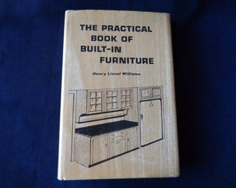 Vintage book Built in Furniture 1959