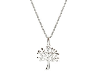 Tree of life pendant etsy silver tree pendant silver tree of life tree of life pendant tree of mozeypictures Gallery