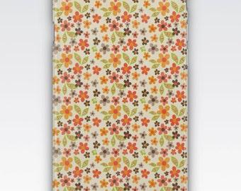 Case for iPhone 8, iPhone 6s,  iPhone 6 Plus,  iPhone 5s,  iPhone SE,  iPhone 5c,  iPhone 7  - Retro Ditsy Floral Print Design