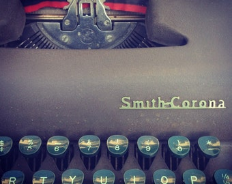 Vintage Smith Corona Typewriter