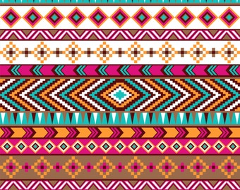 Pattern Vinyl Aztec Printed vinyl- craft vinyl -HTV or Outdoor- Aztec Tribal Pattern-
