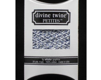 SALE! Blueberry Divine Twine Petites™ from Whisker Graphics - 20 Yards
