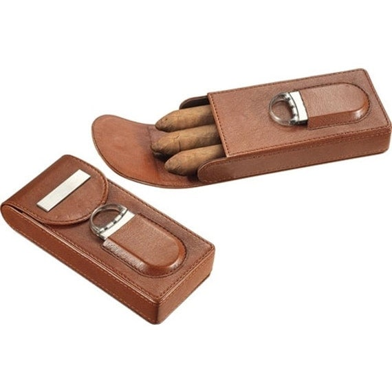 personalized cigar cutters cigar cases holders by personalkitten