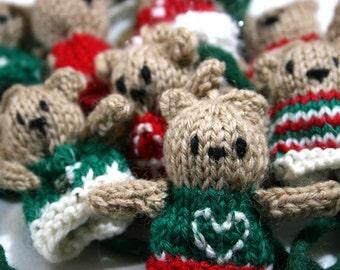 Orsetti da appendere made in Italy 100% in pura lana vergine