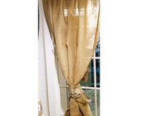 Popular Items For Jute Curtains On Etsy