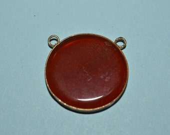 Vintage Carnelian Double Loop Pendant (1060338)