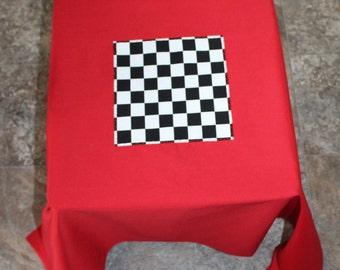 Fabric Checkerboard, Checkers Board
