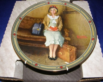 """A Young Girl's Dream""""~ 1st issue NORMAN ROCKWELL: American Dream Series- Plate"""
