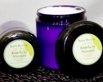 Frankincense & Myrrh - Organic Body Butter - Therapeutic Essential Oils
