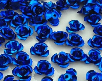 Summer Clearance Sale**Beautifully Detailed Little Aluminum Roses ****Your Choice of Color****