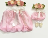 """Doll and Me Clothes, Girl and Doll Clothes, Girl and Doll Matching Outfits, Bubble Skirt, 18"""" Doll Clothes, Gifts for Girls, Gifts for Baby"""