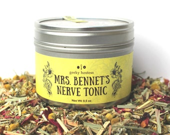 Mrs. Bennet's Nerve Tonic Tea
