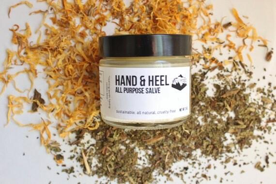 HAND + HEEL // Handmade // All Natural // Vegan // Salve