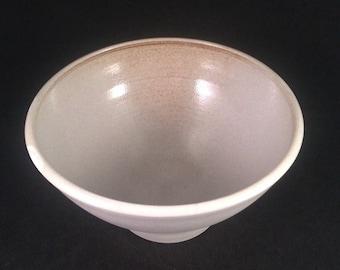 Porcelain bowl grey